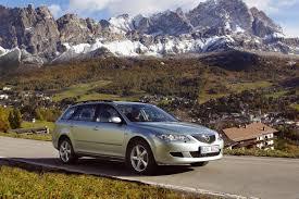 Коврики из экокожи 3D  Mazda Atenza (правый руль) универсал 2002 - 2008