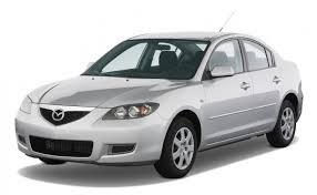 Коврики из экокожи 3D  Mazda Axela (правый руль) 2003 - 2009 (седан)