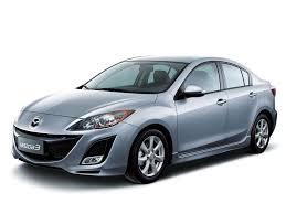Коврики из экокожи 3D  Mazda Axela (правый руль) 2009 - 2013 (седан)