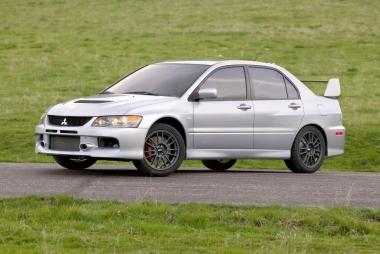Коврики из экокожи 3D  Mitsubishi Lancer Evolution IX 2005 - 2008