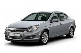 Коврики из экокожи 3D  Opel Astra H (седан) 2004 - 2012