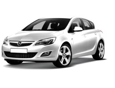 Коврики из экокожи 3D  Opel Astra H (хетчбек) 2004 - 2012
