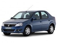 Коврики из экокожи 3D  Renault Logan 2004 - 2014