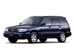 Коврики из экокожи 3D  Subaru Forester I 1997 - 2002 (правый руль)