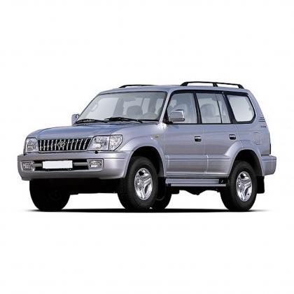 Коврики из экокожи 3D  Toyota Land Cruzer Prado 150 2009 - 2013