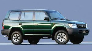 Коврики из экокожи 3D  Toyota Land Cruzer Prado 90 1996 - 2003 (правый руль)