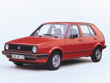 Коврики из экокожи 3D  Volkswagen Golf II 1983 - 1992