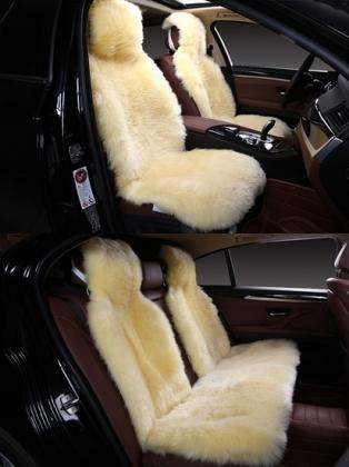 Накидки на сиденья автомобиля из Овчины Комплект накидок на сиденья автомобиля из меха Овчины (Австралия)