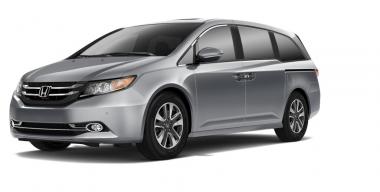Текстильные коврики Honda Odyssey IV 2008-2013
