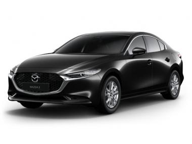 Текстильные коврики Mazda 3 (BP) 2019-н.в. седан