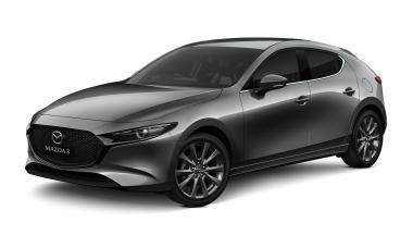 Текстильные коврики Mazda 3 (BP) 2019-н.в. хетчбек