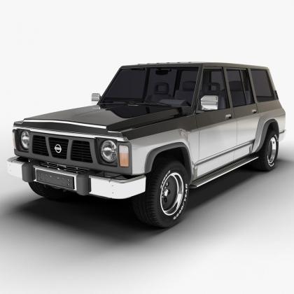 Текстильные коврики Nissan Patrol (Y60) 1987-1997