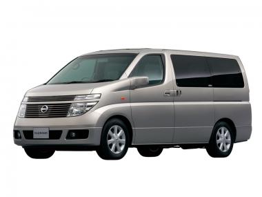 Текстильные коврики Nissan Elgrand II (E51) 2002-2010 (правый руль)
