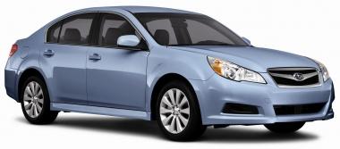 Текстильные коврики Subaru Legacy V 2009 - 2014 правый руль