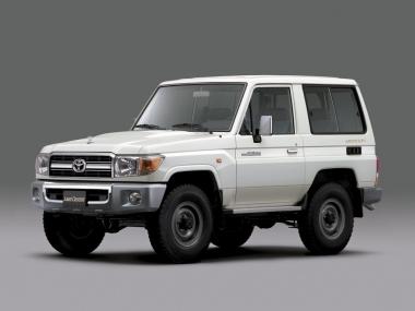 Текстильные коврики Toyota Land Cruiser 70 1984 – 2007 3 дв. (правый  руль)