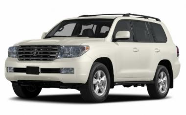 Текстильные коврики Toyota Land Cruiser 200 2007 - 2012  (7 мест)