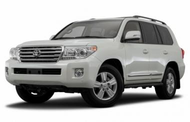 Текстильные коврики Toyota Land Cruiser  200 2012 - наст. время  (7 мест)