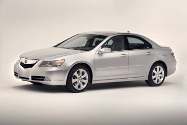 Текстильные коврики Acura RL II Рестайлинг 2008-2012