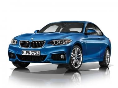 Текстильные коврики BMW 2 серия (F22) 2010-2020 (купе)