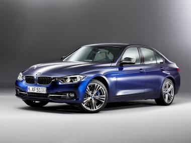 Текстильные коврики BMW 3 (F30) (рестаил) 2016-2020