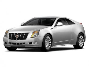Текстильные коврики Cadillac CTS II 2007-2014 (купе)