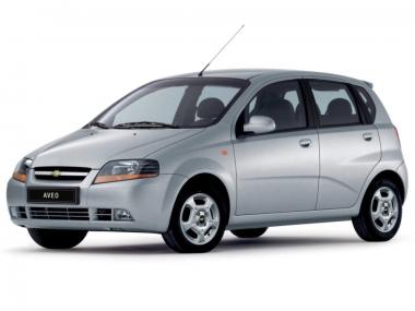 Текстильные коврики Chevrolet Aveo 2003 - 2012 (хэчбек)