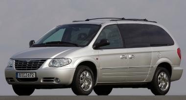 Текстильные коврики Chrysler Voyager IV 2001 - 2004