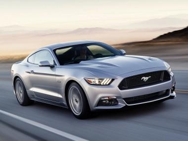 Текстильные коврики Ford Mustang VI 2014-2020