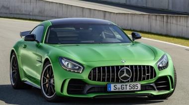 Текстильные коврики Mercedes AMG GT I 2017 - н.в