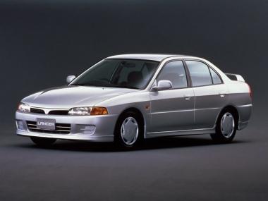 Текстильные коврики Mitsubishi Lancer VII  (правый руль) 1995-2000