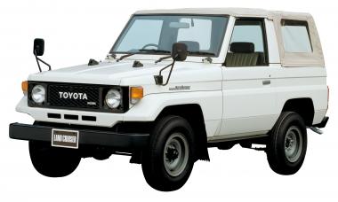 Текстильные коврики Toyota Land Cruiser 70 1984 – 2007 3 дв.