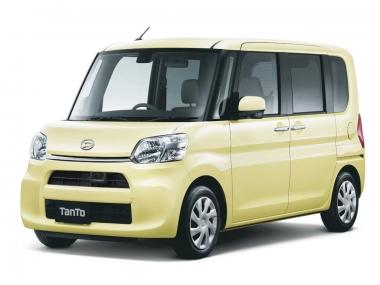 Текстильные коврики Daihatsu Tanto III 2013-2019 (правый руль)