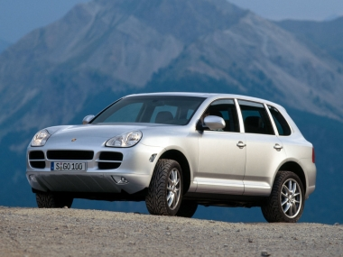 Коврики из экокожи 3D  Porsche Cayenne 2002 - 2010