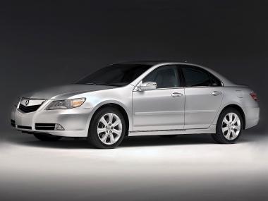 Коврики из экокожи 3D  Acura RL II Рестайлинг 2008-2012
