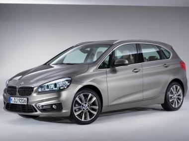 Коврики из экокожи 3D  BMW 2 серия Active Tourer (F45) 2014-2018