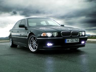 Коврики из экокожи 3D  BMW 7 (E38) 1994 - 2001