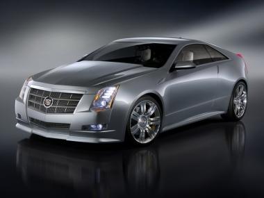 Коврики из экокожи 3D  Cadillac CTS II 2007-2014 (купе)