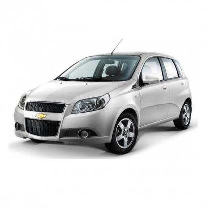 Коврики из экокожи 3D  Chevrolet Aveo 2003 - 2012 (хэчбек)