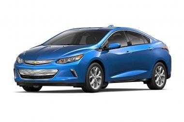 Коврики из экокожи 3D  Chevrolet Volt II 2015-2019
