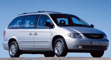 Коврики из экокожи 3D  Chrysler Voyager IV 2001 - 2004