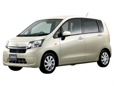 Коврики из экокожи 3D  Daihatsu Move VI 2012-2020