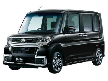 Коврики из экокожи 3D  Daihatsu Tanto III 2013-2019 (правый руль)