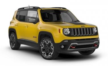 Коврики из экокожи 3D  Jeep Renegade I 2014 - наст. время