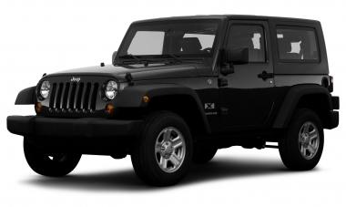 Коврики из экокожи 3D  Jeep Wrangler III (JK) 3 двери 2008-2017
