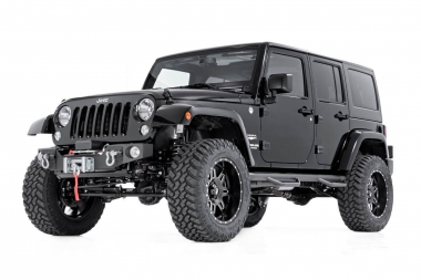 Коврики из экокожи 3D  Jeep Wrangler III (JK) 5 дверей 2008-2017