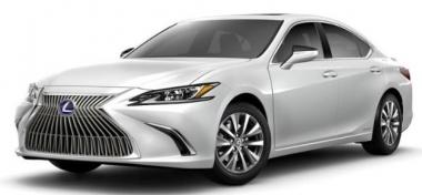 Коврики из экокожи 3D  Lexus ES VII 2018- наст. время