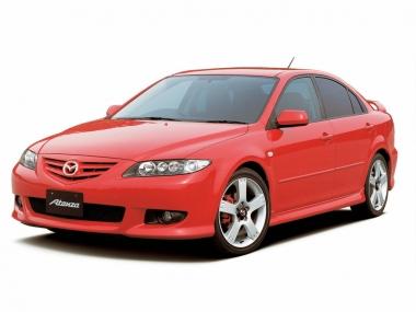 Коврики из экокожи 3D  Mazda Atenza (правый руль) седан 2002 - 2008