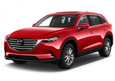 Коврики из экокожи 3D  Mazda CX-9 2017 - наст. время