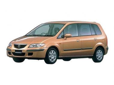 Коврики из экокожи 3D  Mazda Premacy I (CP) 1999-2005 (правый руль)