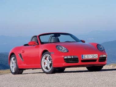 Коврики из экокожи 3D  Porsche Boxster II (987) 2004-2012